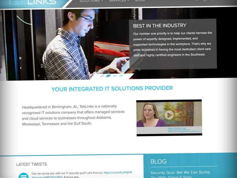 Teklinks Web Site Development